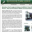 Guest house and park lodge within the West Midlands featuring reindeer seen in 'Braveheart'.