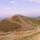 One of the most northerly hills which make up the Malvern Hills.