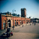 Ashton Market ground, taken with a Holga 120CFN.